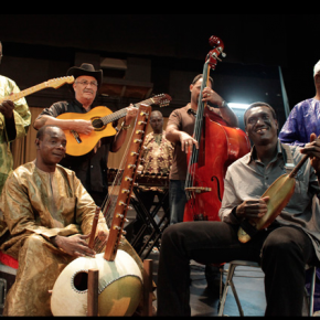 BASSEKOU PERFORMES WITH AFROCUBISM